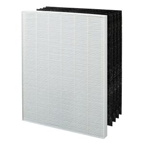 The Winix 115115 Replacement Filter A is compatible with Winix Air Purifier units 6300, P300, 5300, 5500, 5300-2, 6300-2, and C535.