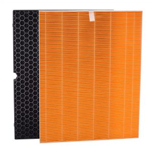 The Winix 116131 Replacement Filter I is for the Winix C555 Air Purifier. It includes an Anti-Microbial True HEPA Filter and a Washable AOC™ Carbon Filter.