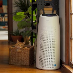 The Winix NK105 Tower Air Purifier combines Wi-Fi capability and a 4-stage cleaning system to offer a beautiful air purifier with outstanding performance.