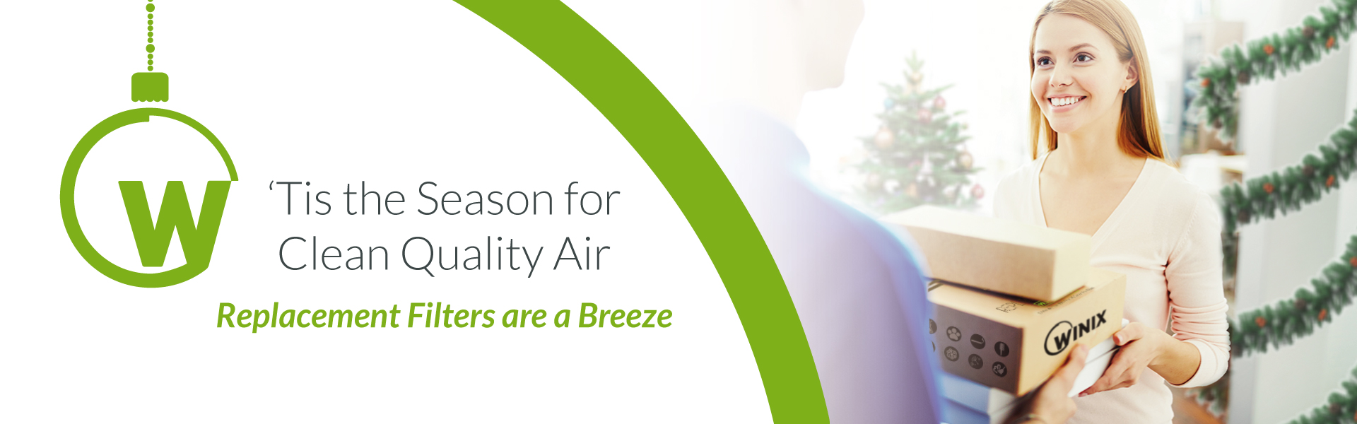 This is the season for Clean Quality Air. Filter Replacements are a Breeze.