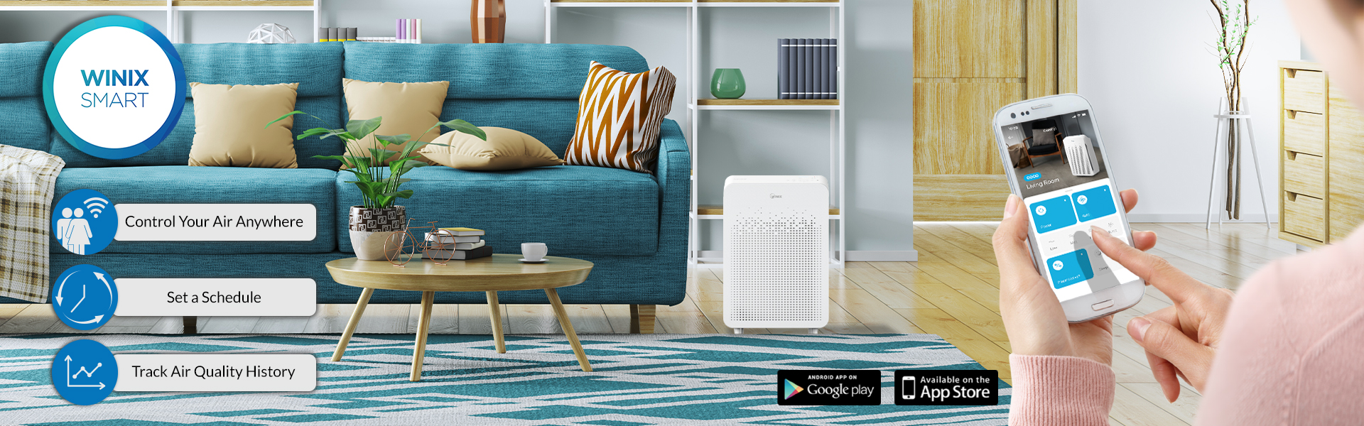 C545 WiFi Enabled Air Purifier